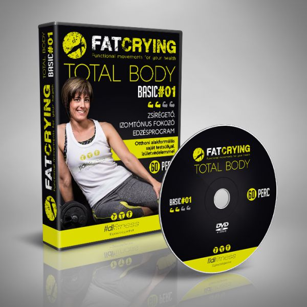 FATCRYING TOTAL BODY B01 (DVD) - Fitness DVD